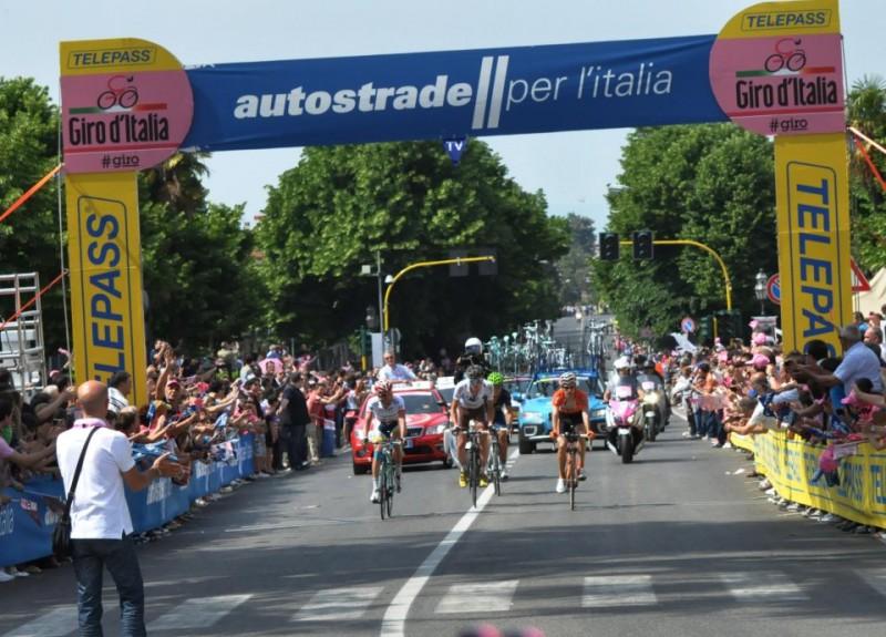 Giro d'Italia Tappa a San Giorgio del Sannio