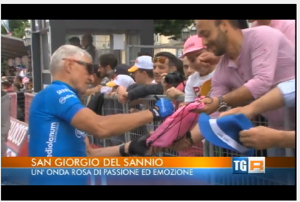 Giro d'Italia: notizie, immagini, video (bellissimo quello della TV spagnola…grazie!!!)