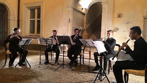 """Grandi consensi per la ricca Rassegna Cameristica """"Passeggiate in Musica"""", ospite della V edizione di Notti di Note."""