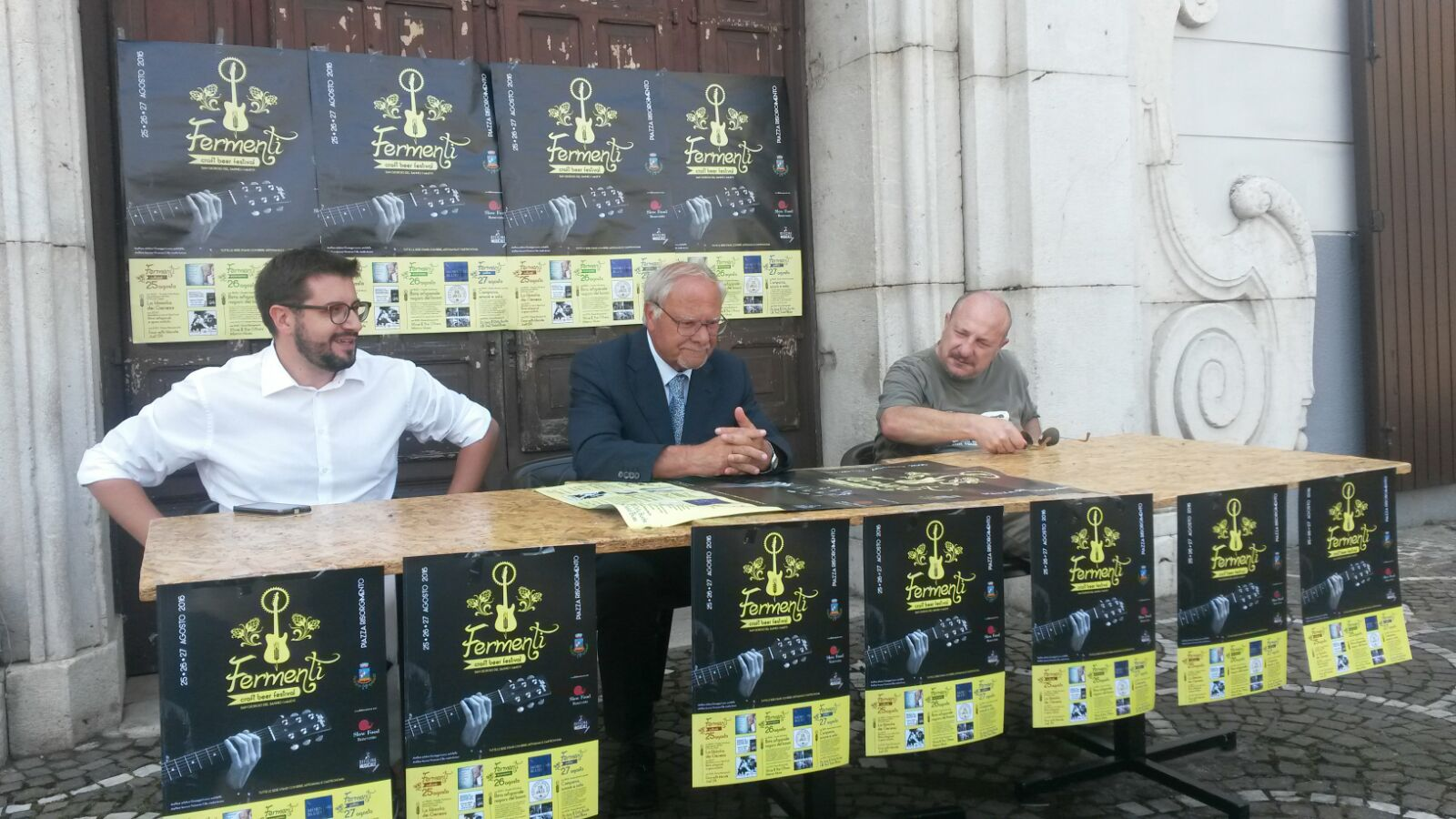 conferenza stampa FERMENTI