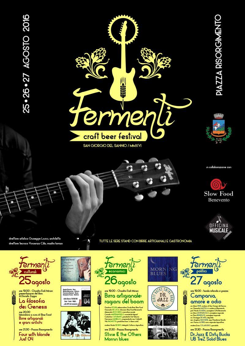 Fermenti – craft beer festival, presentato il cartellone  a San Giorgio del Sannio cultura, economia e politica