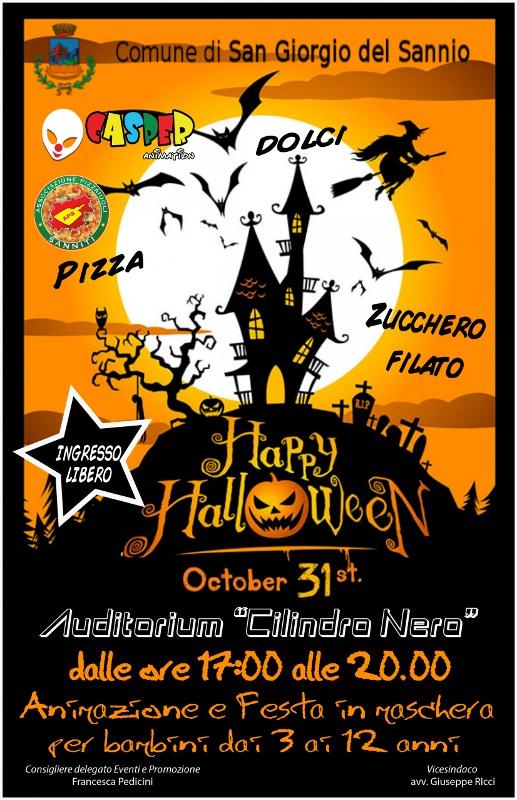 Festa di Halloween al Cilindro Nero