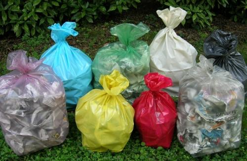 Distribuzione buste raccolta differenziata