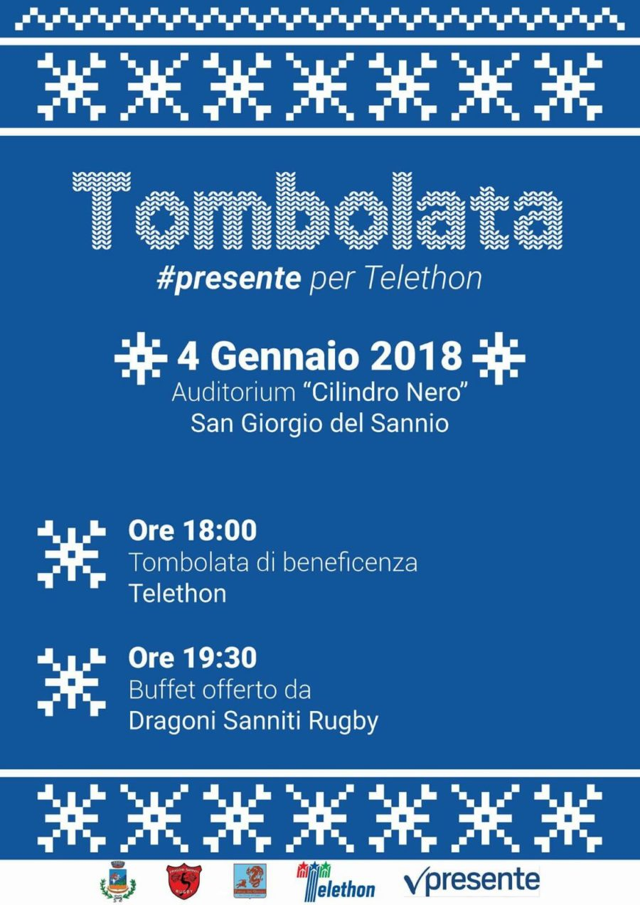 Tombolata di beneficenza