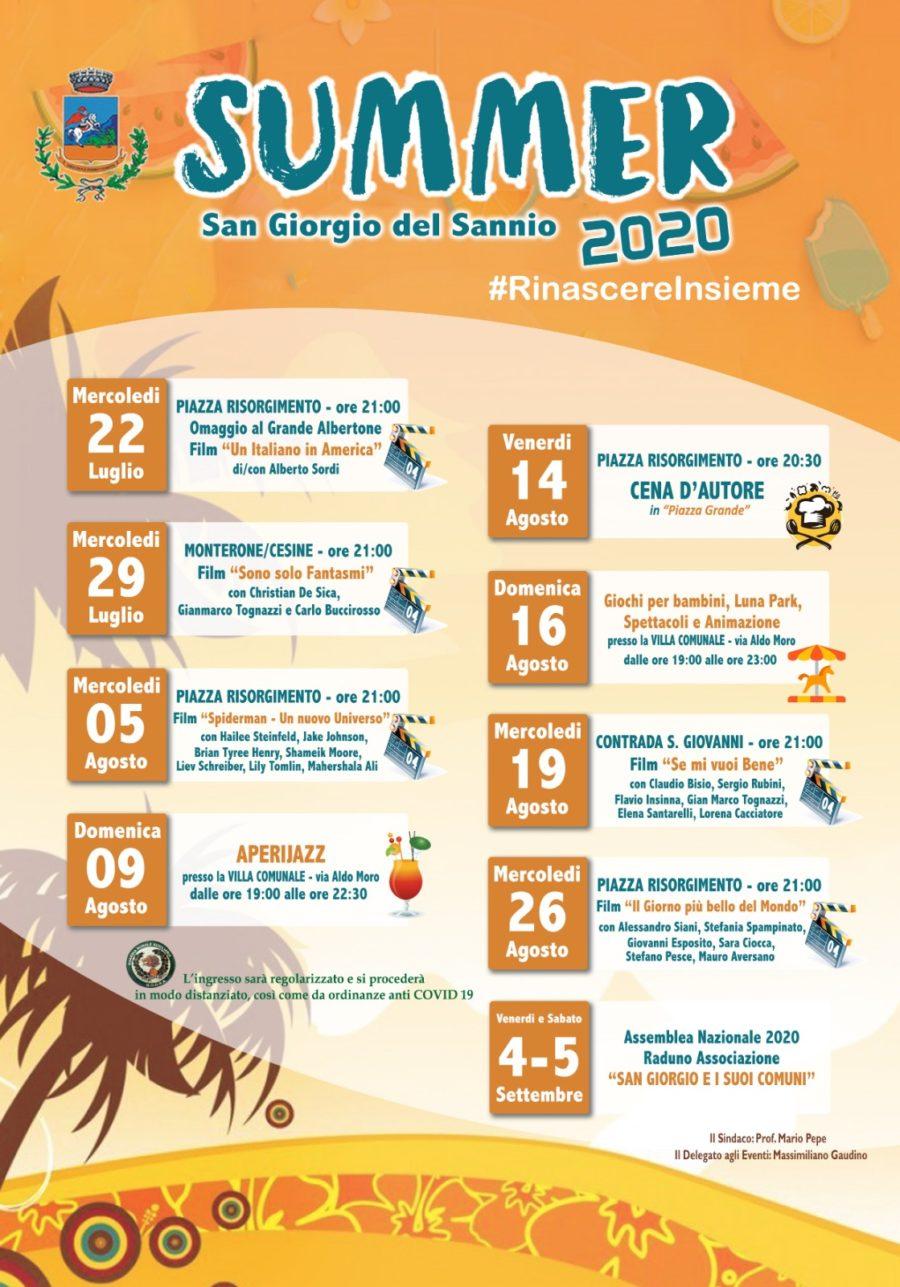 San Giorgio del Sannio – Summer 2020